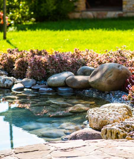 1st Choice Lawn Care & Landscaping Residential Water Features